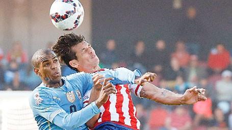 Conmebol promociona el Mundial de Uruguay-Argentina-Paraguay 2030