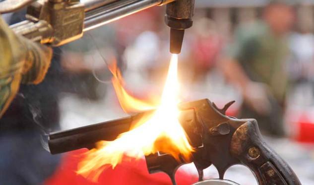 17.014 armas de fuego fueron destruidas este miércoles en Lara