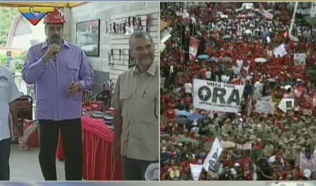 Maduro participa en jornada de trabajo de Barrio Nuevo Tricolor