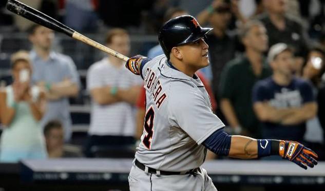 Miguel Cabrera bateó su jonrón nro. 440 en la MLB