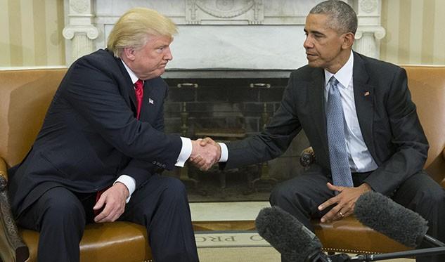 Trump y Obama sellan una transición estable en EEUU