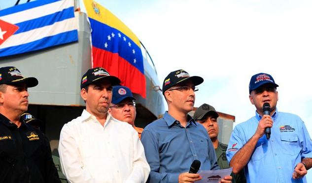 Cuba agradece ayuda humanitaria de Venezuela
