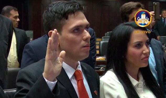 Juramentado Rosmit Mantilla como diputado suplente
