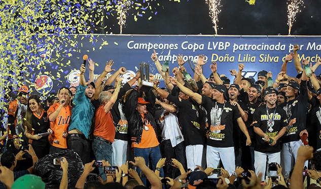 Águilas del Zulia campeones de la LVBP después de 17 años