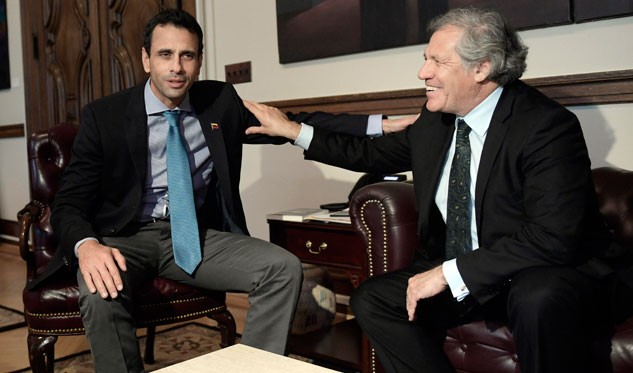 Resultado de imagen para DECLARACIONES DE LUIS ALMAGRO SOBRE VENEZUELA