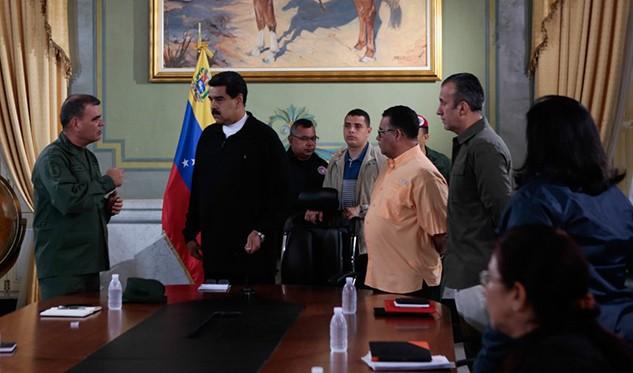 No es tiempo de traidores, no es tiempo de traición — Maduro