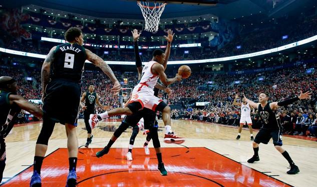 Raptors empata la serie a los Bucks de Milwaukee