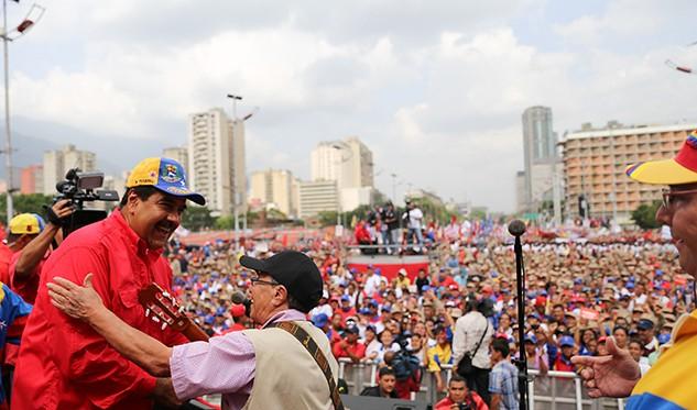 Venezolanos en Honduras protestan contra el Gobierno de Nicolás Maduro