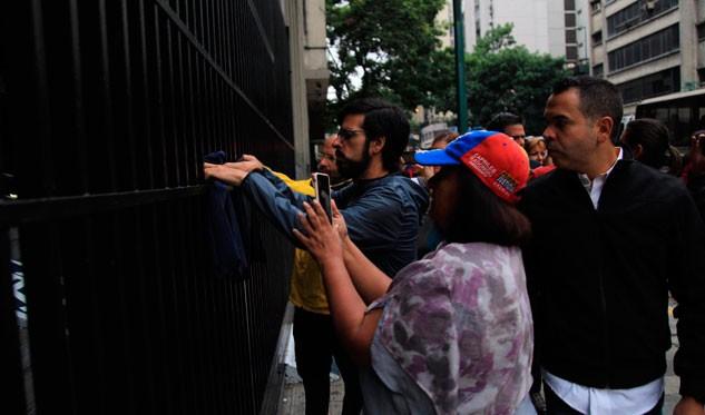 Diputados opositores amanecieron en el Ministerio de Interior y Justicia