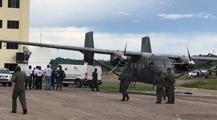 Hallados ocho cadáveres del helicóptero militar siniestrado en Puerto Ayacucho