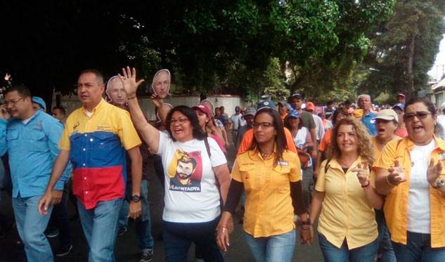 Nueva jornada de protesta en las calles de Venezuela