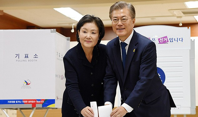 Moon Jae-In, virtual presidente de Corea del Sur