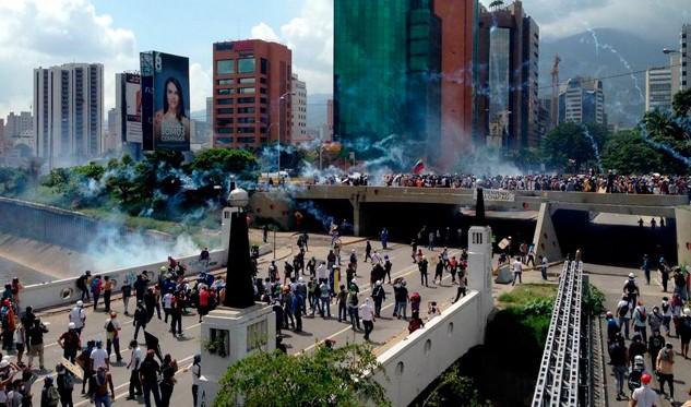 Joven de 27 años murió durante manifestación opositora en Caracas