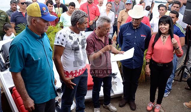Pueblo campesino y pescador se movilizan a favor de la Constituyente