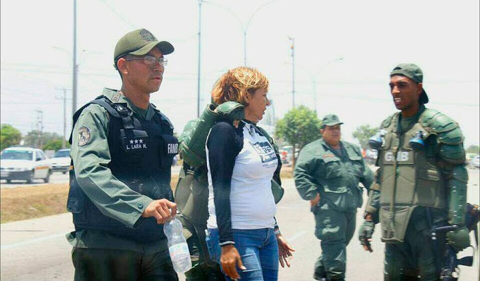 "Detienen a diputada en Venezuela"""