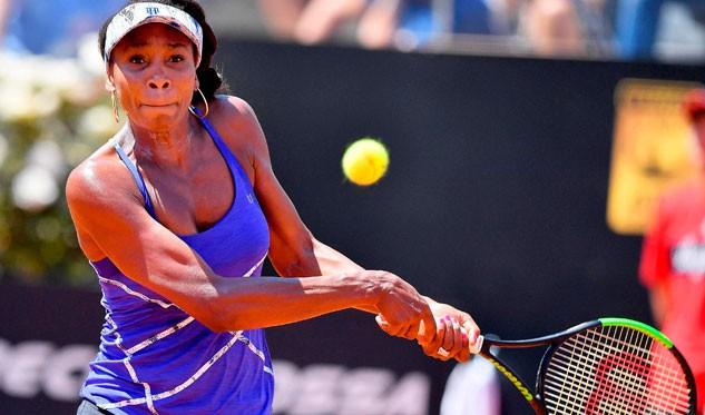 Venus Williams queda fuera del torneo de Roma