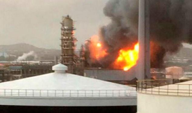 Incendio en refinería Isla de Curazao ya fue controlado — Del Pino