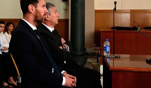 Confirmaron la condena a Messi por fraude fiscal