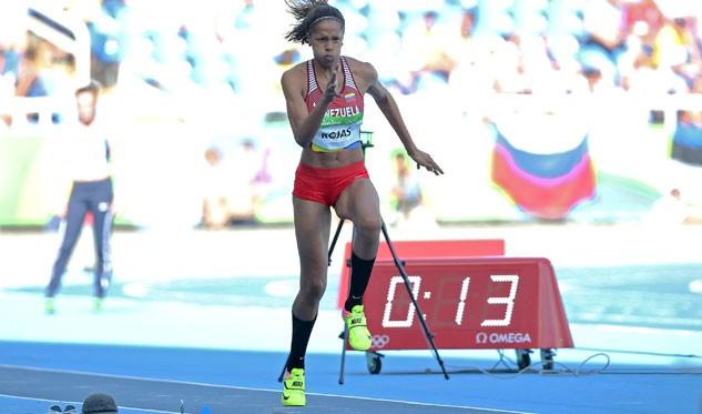 Yulimar Rojas alcanzó la mejor marca mundial del año en triple salto