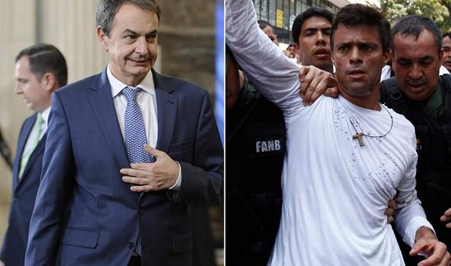 Leopoldo López: recibí visita del expresidente Zapatero, Delcy Rodríguez y Jorge Rodríguez