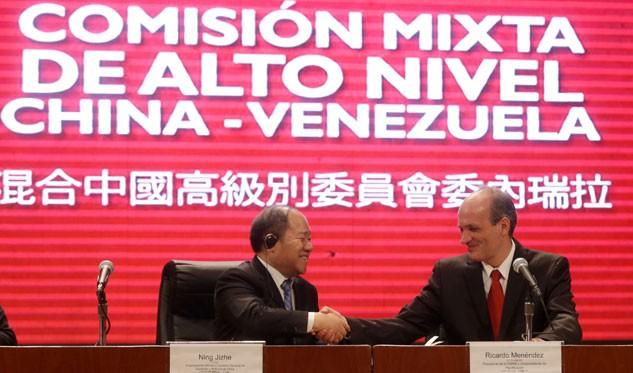 Venezuela y China firman pacto para desarrollar refinería de crudo en Nanhai