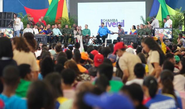 Abren 40.000 vacantes para jóvenes en los cuerpos de seguridad de Venezuela