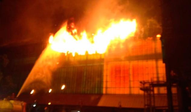 Controlaron incendio en el área de Decapado de Sidor