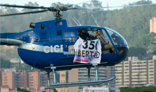 Autoridades localizan helicóptero utilizado en ataque en Venezuela