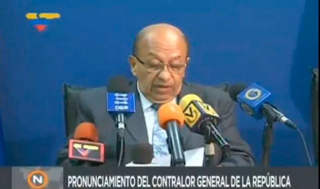 Contraloría venezolana realizará auditorías a sedes administrativas del Ministerio Público