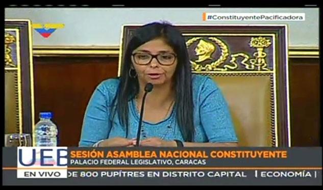 Rodríguez Queremos dar un reconocimiento muy especial a los trabajadores del Poder Electoral