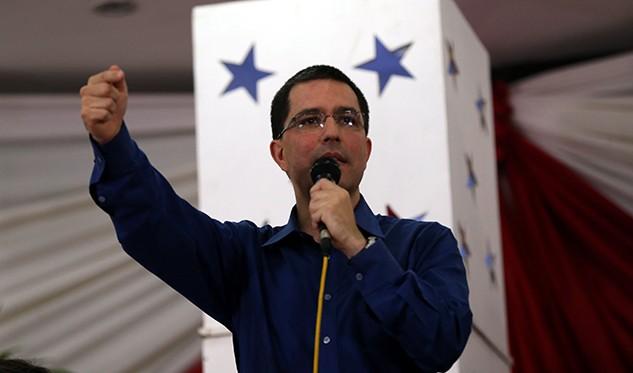 Jorge Arreaza canciller de la República