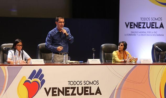 Se congregan en Caracas para dialogar por la paz de Venezuela