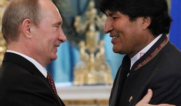 Putin visitará Bolivia en reunión de países productores de gas