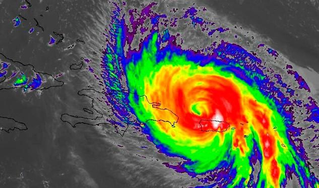 Autoridades dominicanas decretan alerta roja para 22 provincias por huracán María (VÍDEO)