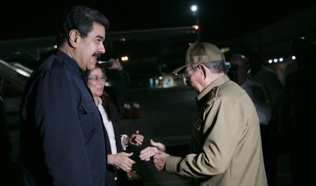 Presidente venezolano en Cuba para entrega de donación (+Audio)