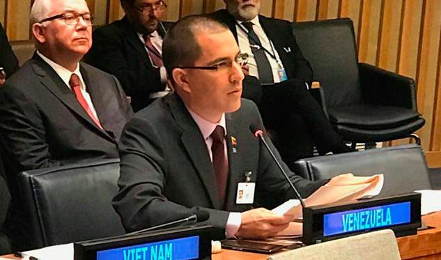 Venezuela reitera en ONU opción de diálogo con EEUU
