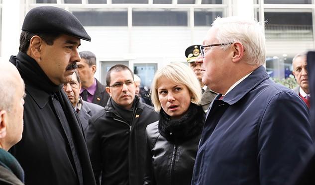 Presidente Maduro inicia gira relámpago internacional