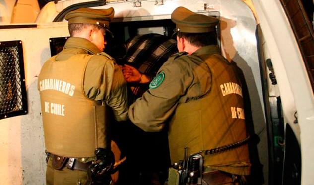 Más de dos mil detenidos dejó operativo nacional de Carabineros