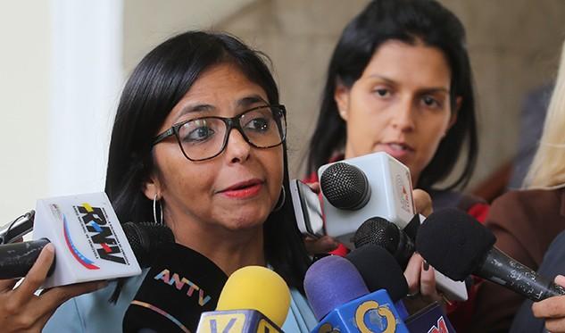 Delcy Rodríguez: Las municipales ayudan a fortalecer la democracia vigorosa
