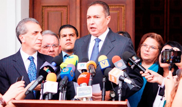 La MUD falleció tras la nueva fracción parlamentaria — Blanco