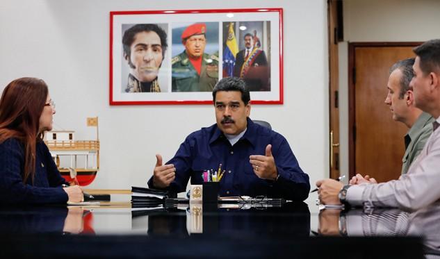 Presidente Maduro anuncia nueva etapa de estatal petrolera