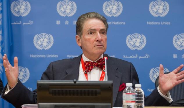 Arreaza se reúne con experto de la ONU que visita Venezuela
