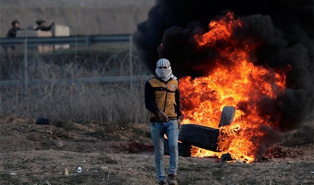 Dos milicianos palestinos resultaron muertos