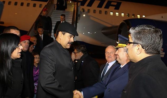 Maduro viajó a Turquía este martes
