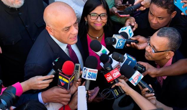 EEUU pretende boicotear el diálogo — Jorge Rodríguez