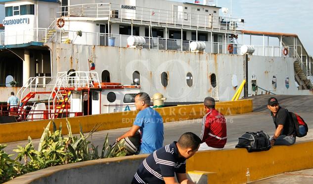 Paralizada ruta marítima entre Cumaná y la isla de Margarita