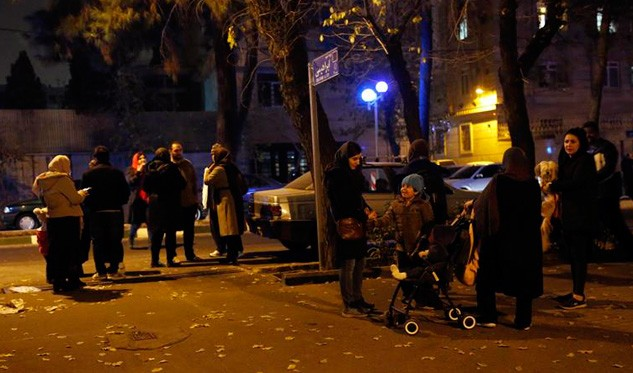 Sismo de magnitud 5,2 sacudió capital de Irán